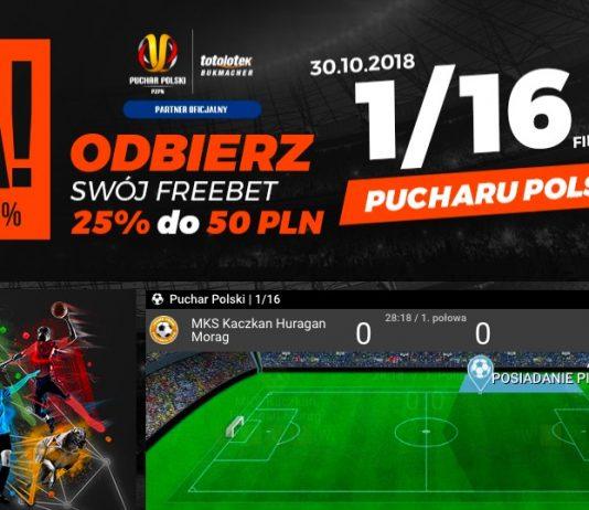Totolotek przygotował freebet na Puchar Polski!