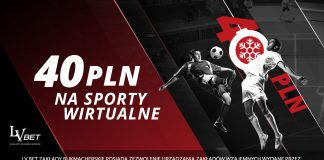 Jak odebrać 40 PLN na Wirtualne Sporty w LvBET?