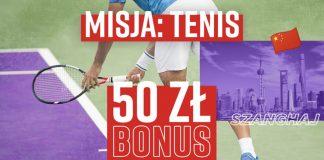 Tenisowy bonus w Betclic - kasa dla graczy, czyli 50 PLN ekstra!