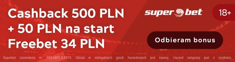 superbet polska bonusy bez depozytu